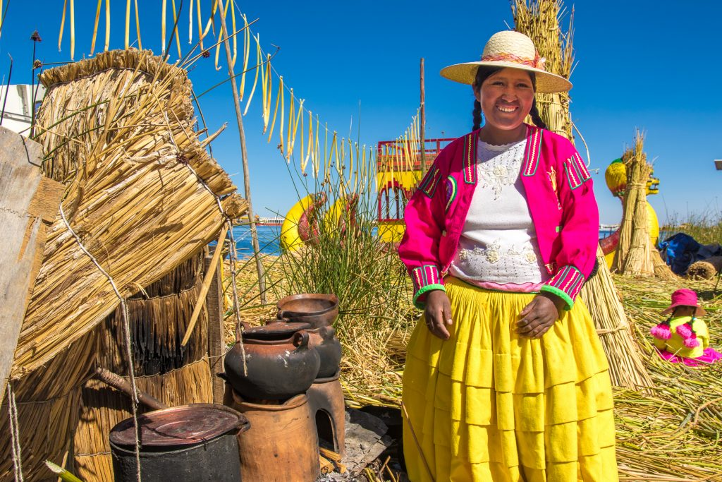 Peru - 1559 - Lake Titicaca - Traditional Village Living on Reed Islands