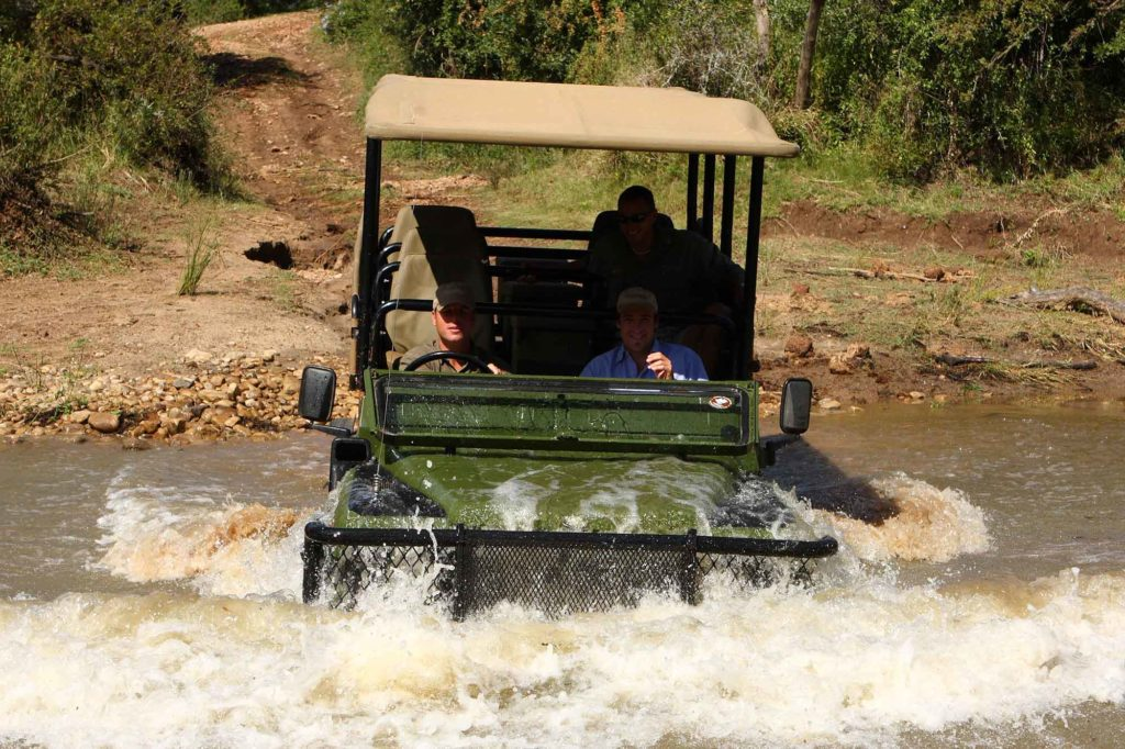 Learn 4 Wheel Drive on Game Ranger Course
