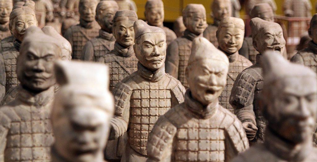 China - 18262- Xi'an Sights - Terracotta Warriors -