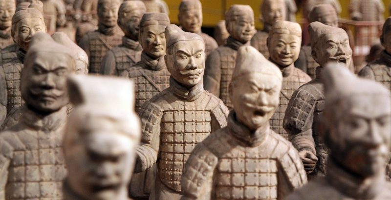 China - 18262- Xi'an Sights - Terracotta Warriors -