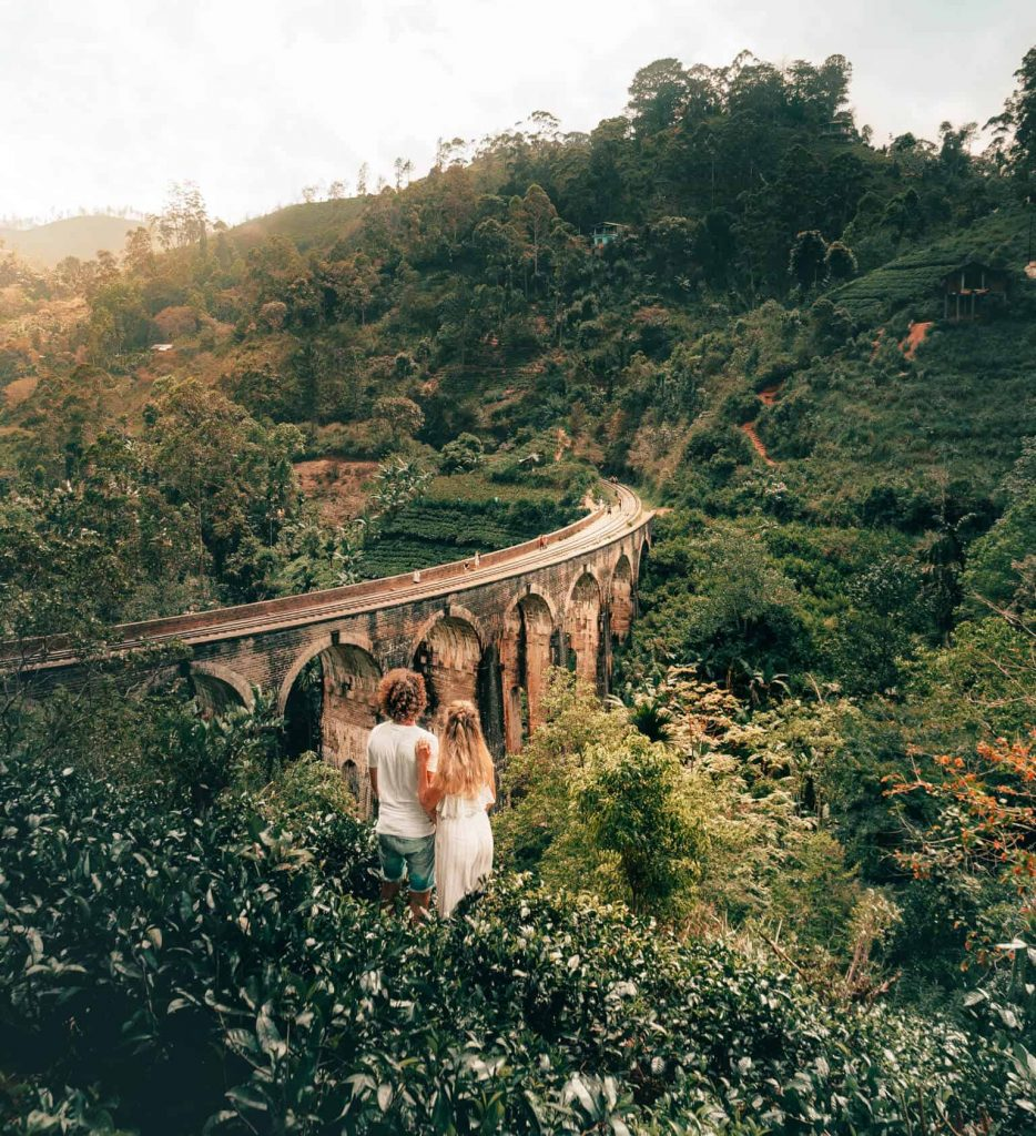 Photography Experience of Sri Lanka - 1567 - Ella 9 Arch - Railway
