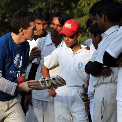Cricket Coaching Volunteer Project in India, Udaipur