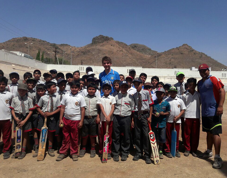 Cricket Coaching Volunteer Project in India, Udaipur 2544