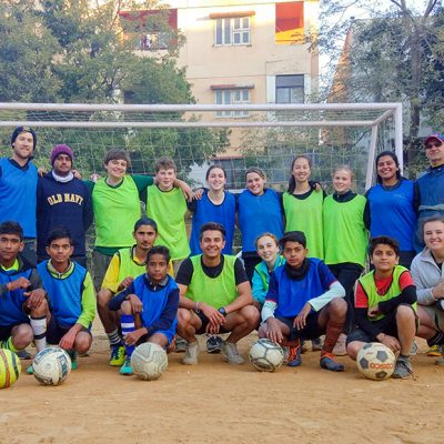 Football Coaching Volunteer Project in India, Udaipur