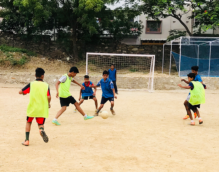 Football Coaching Volunteer Project in India, Udaipur 2543