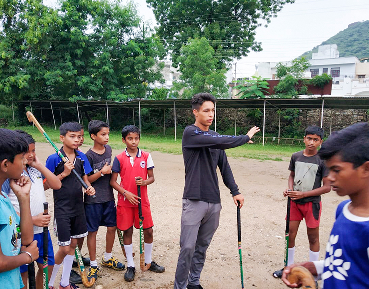 Hockey Coaching Volunteer Project in India, Udaipur 2545