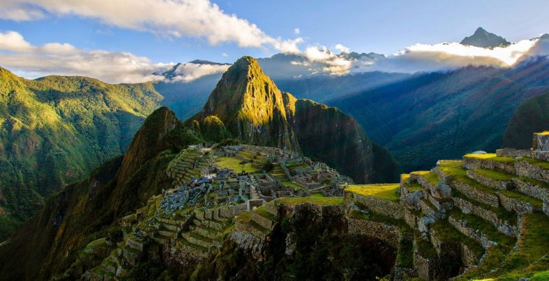 Classic Peru - 1559 - Machu Picchu - Ancient Ruins in the Mountains