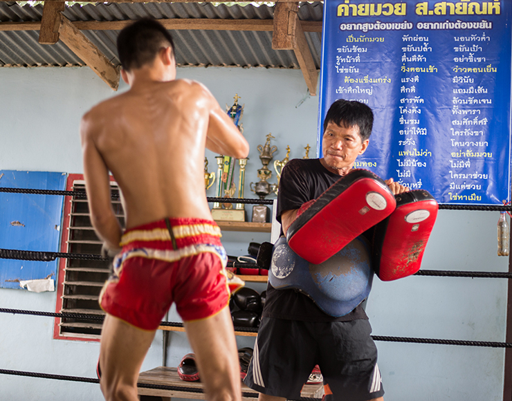 Muay Thai Boxing Coaching and Training in Thailand, Singburi 2548