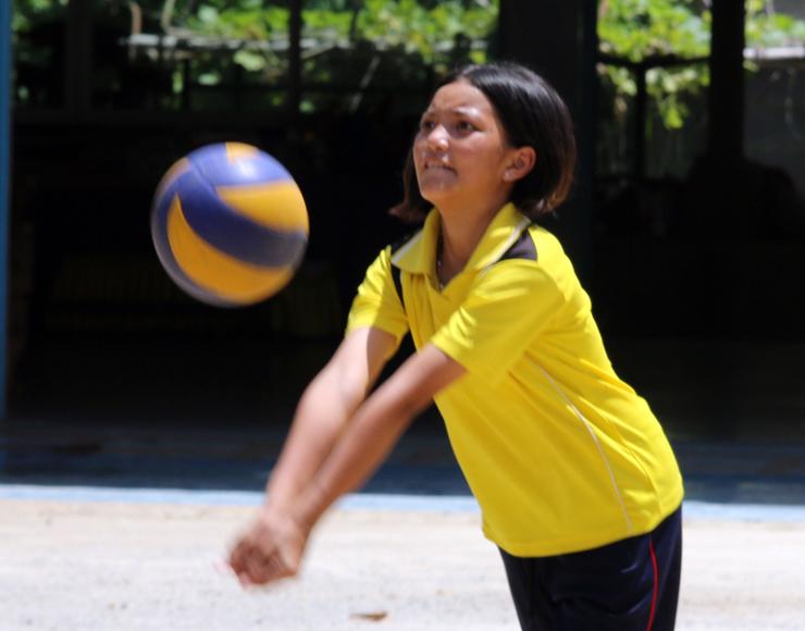 Multi-Sports Coaching Volunteer Project in Thailand, Singburi 2547
