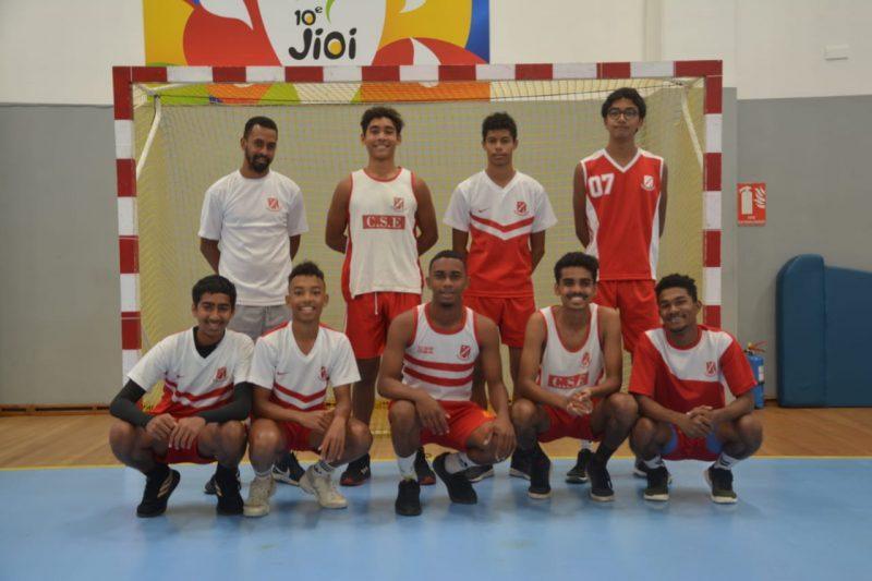 Mauritius Handball Team Shot