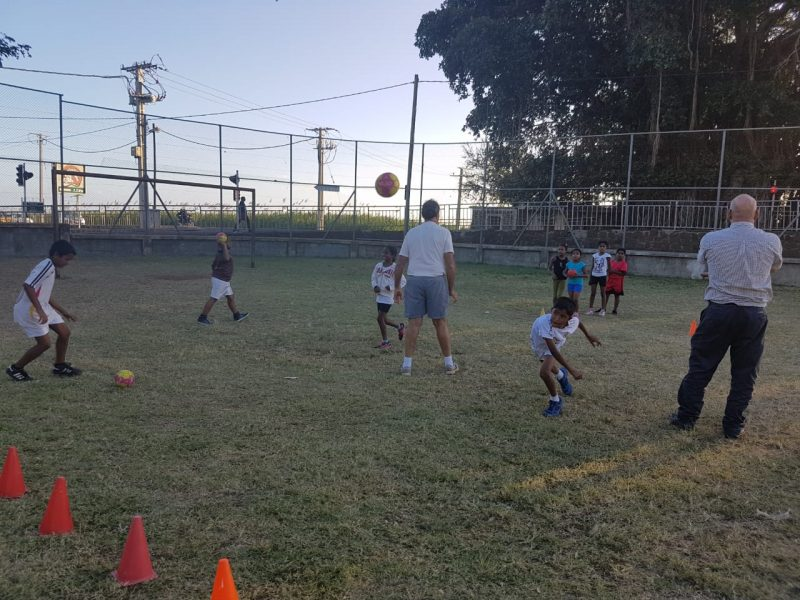 Handball Coaching and Playing Project in Mauritius 2540