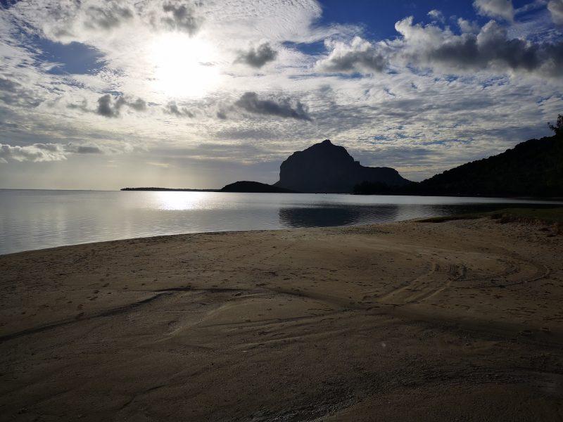 Sunset in Le Morne Mauritius