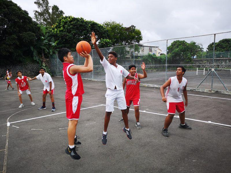 Mauritius School Basketball Game Coaching
