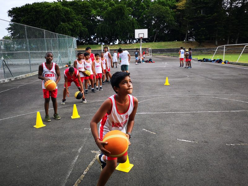 Coaching Basketball Layups in Mauritius