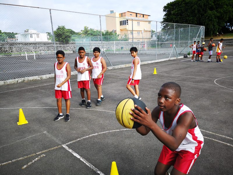 Set Shot Basketball in Mauritius