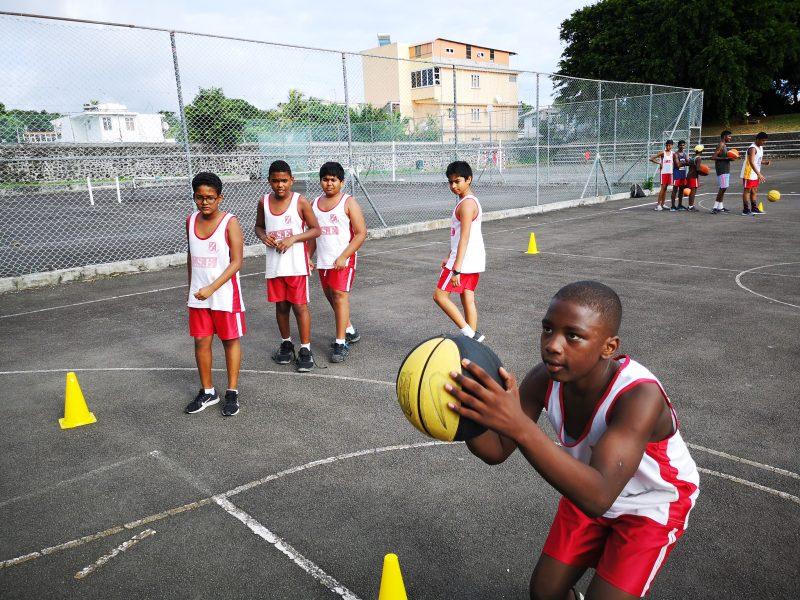 Set Shot Basketball in Mauritius