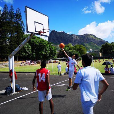 Basketball Coaching and Playing Project in Mauritius