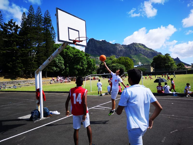Lay up in Basketball in Mauritius