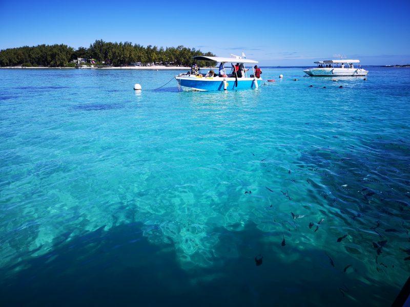Mauritius Blue Bay Glass Bottom Boat