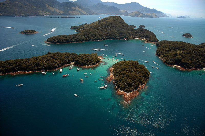 Brazilian Family Experience -1569 - Ilha Grande - Islands from above