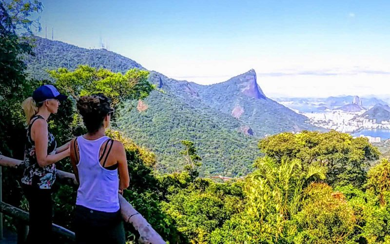 Brazil Adventure - 1569 - Rio de Janeiro - Jungle Hike - Mountain Views