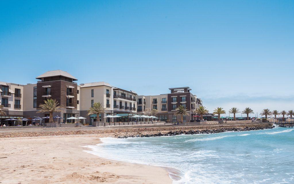 Namibia - 1552 - Swakopmund - Strand Hotel - Beach location