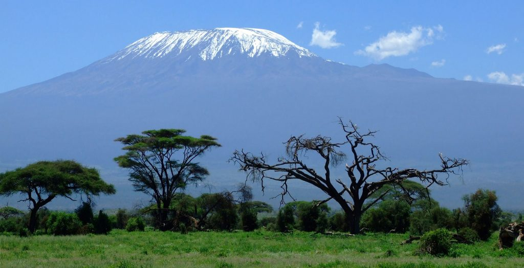 Tanzania - 1568 - Kilimanjaro - Mountain Views - Snow capped Summit