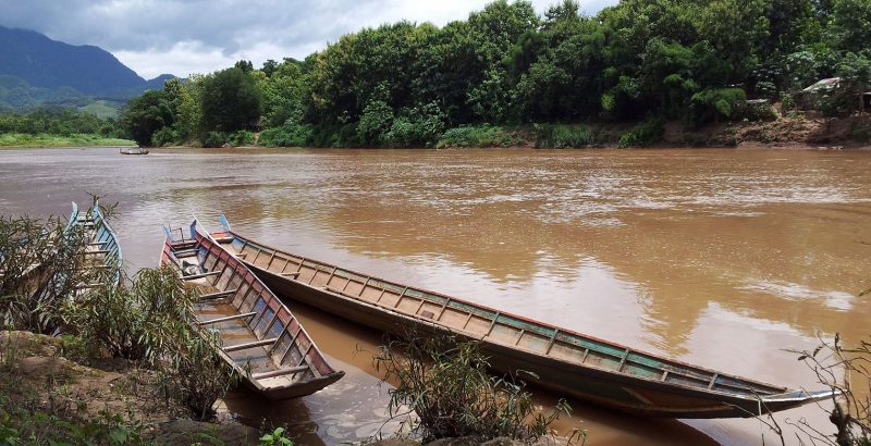 Laos - 17089 - River