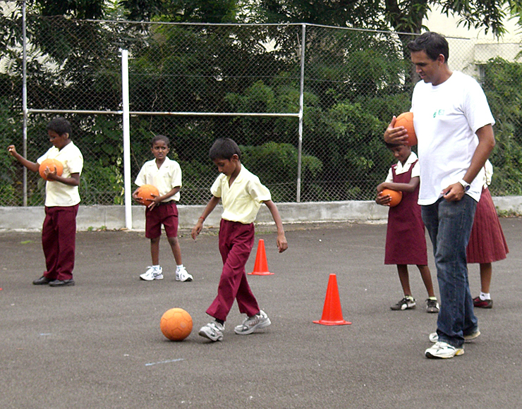 Football Project in Mauritius