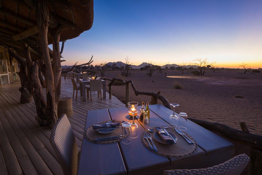 Namibia - Sossusvlei - 1552 - Outdoor Seating at Night