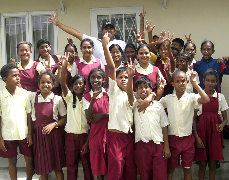 Working in Mauritius Schools