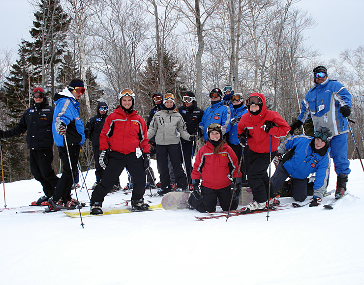 Ski Instructor Trainees Canada