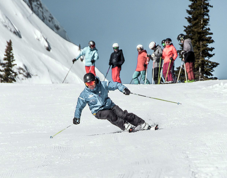 CSIA 1 & 2 Ski & Snowboard Instructor Course in Canada, Fernie 2535