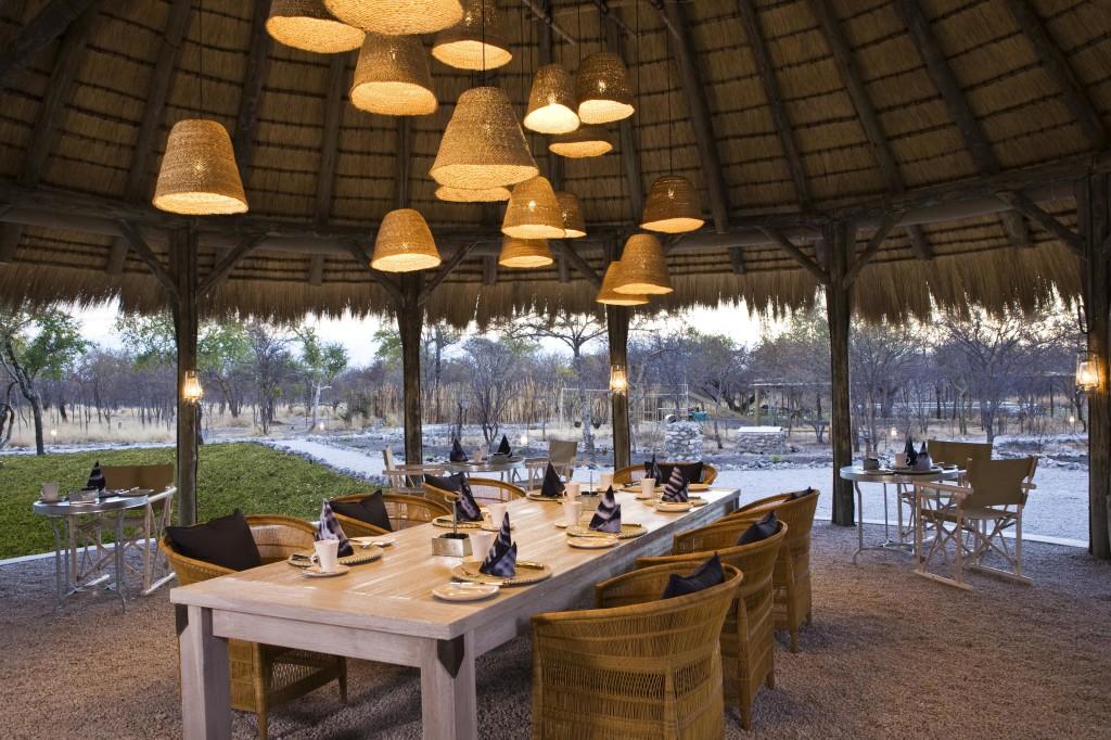 Namibia - 1552 - Mushara Bush Camp - Dining
