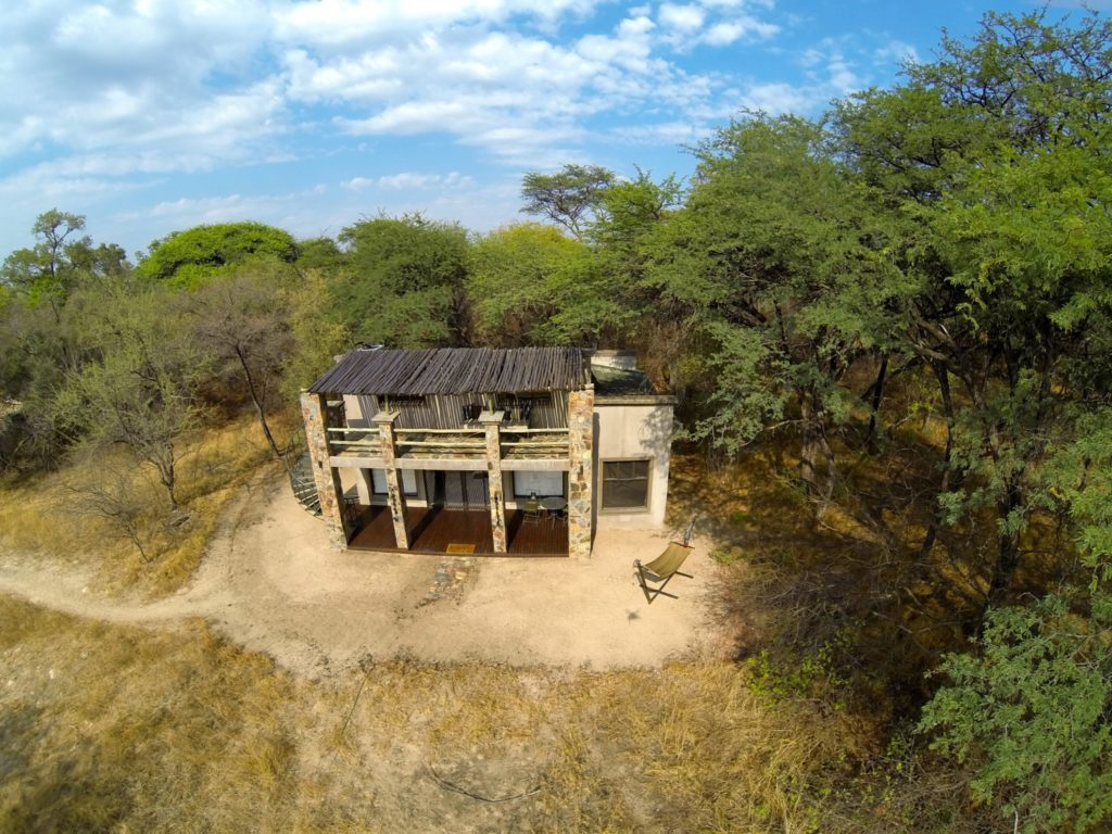 Zimbabwe - Hwange - 1564 - Exterior of Camelthorn Lodge