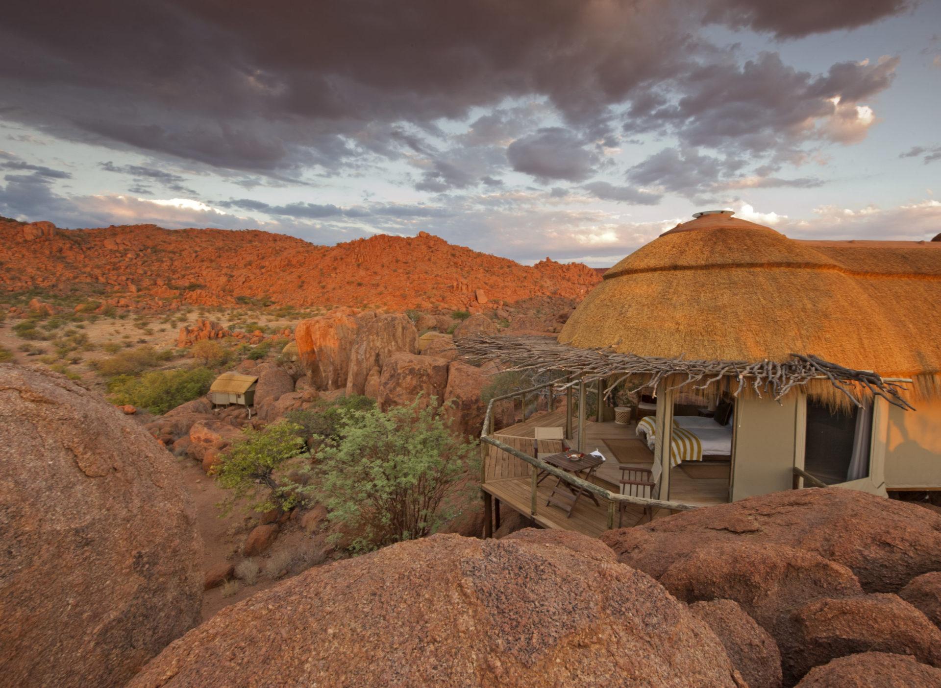 Namibia - 1552 - Mowani Mountain Camp - Suite View