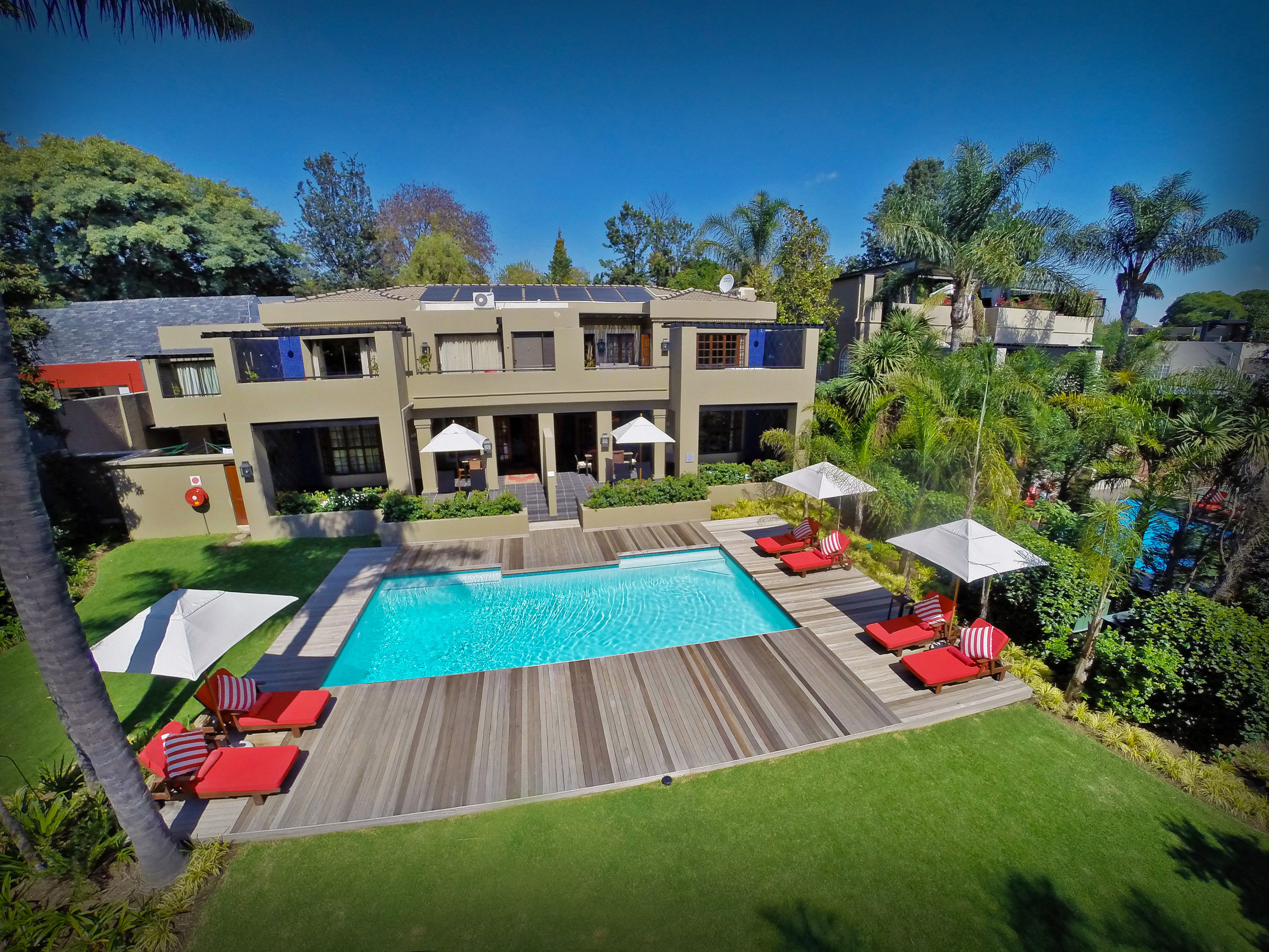 The Residence-Aerial
