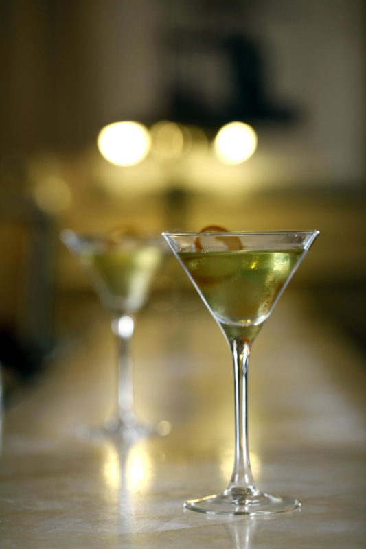 South Africa - Cape Town - Belmond Mount Nelson - Planet Bar - Apple Martini
