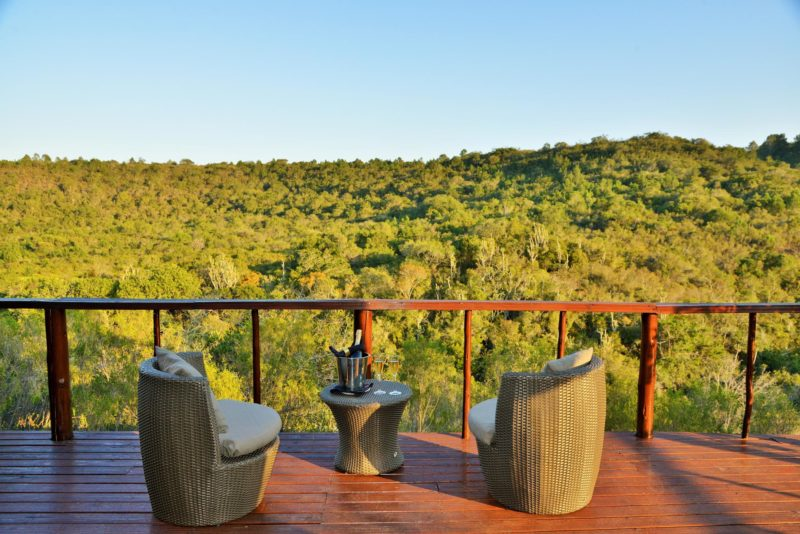 South Africa - Eastern Private Game Reserves - Sibuya Bush Lodge - Suite Deck