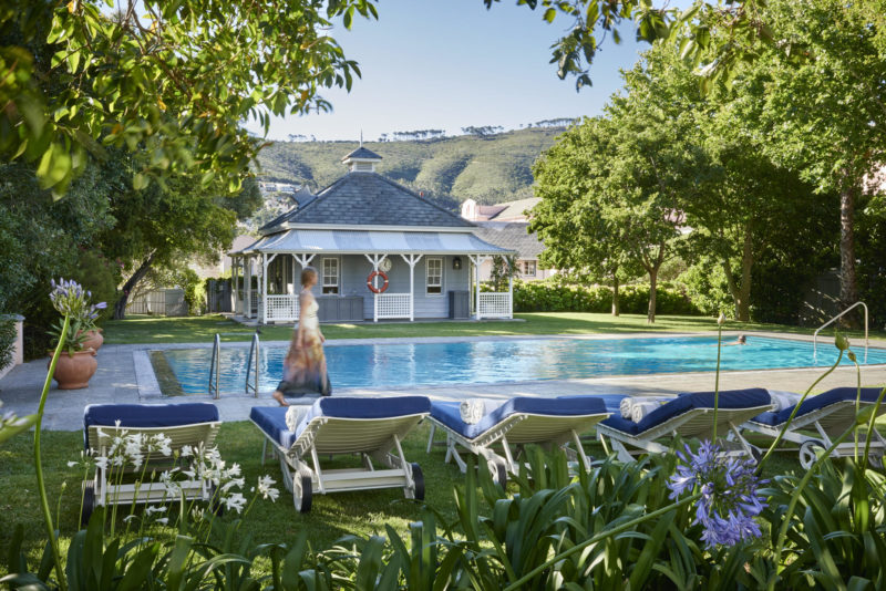 South Africa - Cape Town - Belmond Mount Nelson - Cottage pool