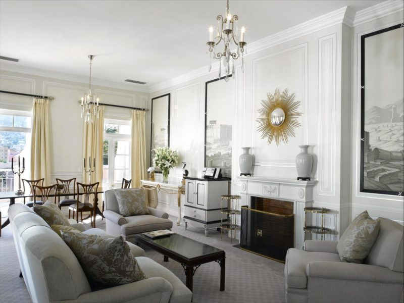 South Africa - Cape Town - Belmond Mount Nelson - Presidential Suite lounge