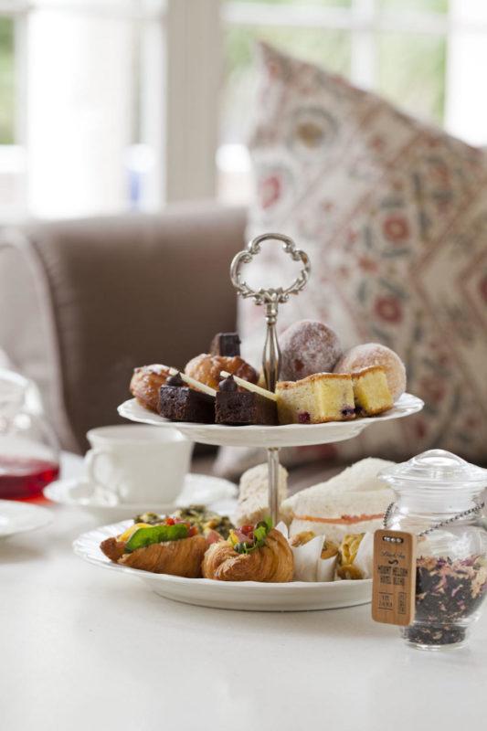 South Africa - Cape Town - Belmond Mount Nelson - The Lounge - Mornng Tea