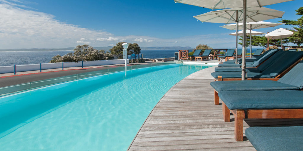 South Africa - Hermanus - Harbour House Hotel - View from infinity pool