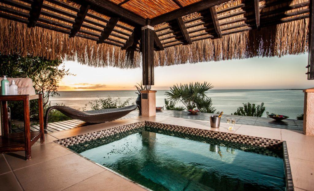 Mozambique - Bazaruto Archipelago - 11895 - Poolside View of Ocean
