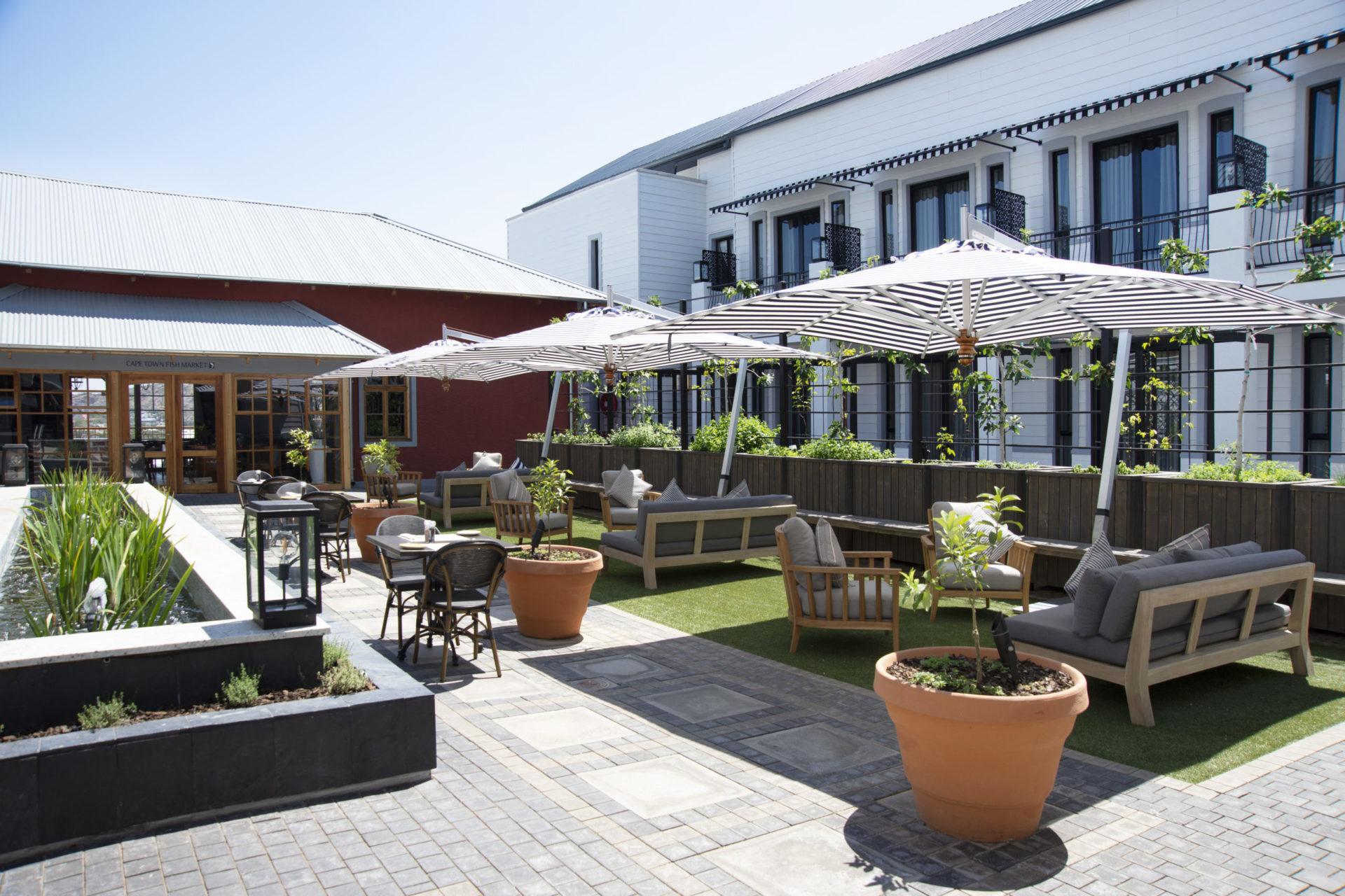 Namibia - 1552 - Am Weinberg - Courtyard