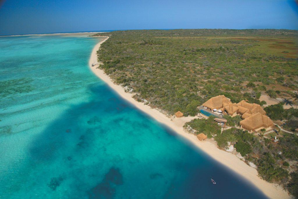 Mozambique - Bazaruto Archipelago - 11895 - Arial Shot of Villa