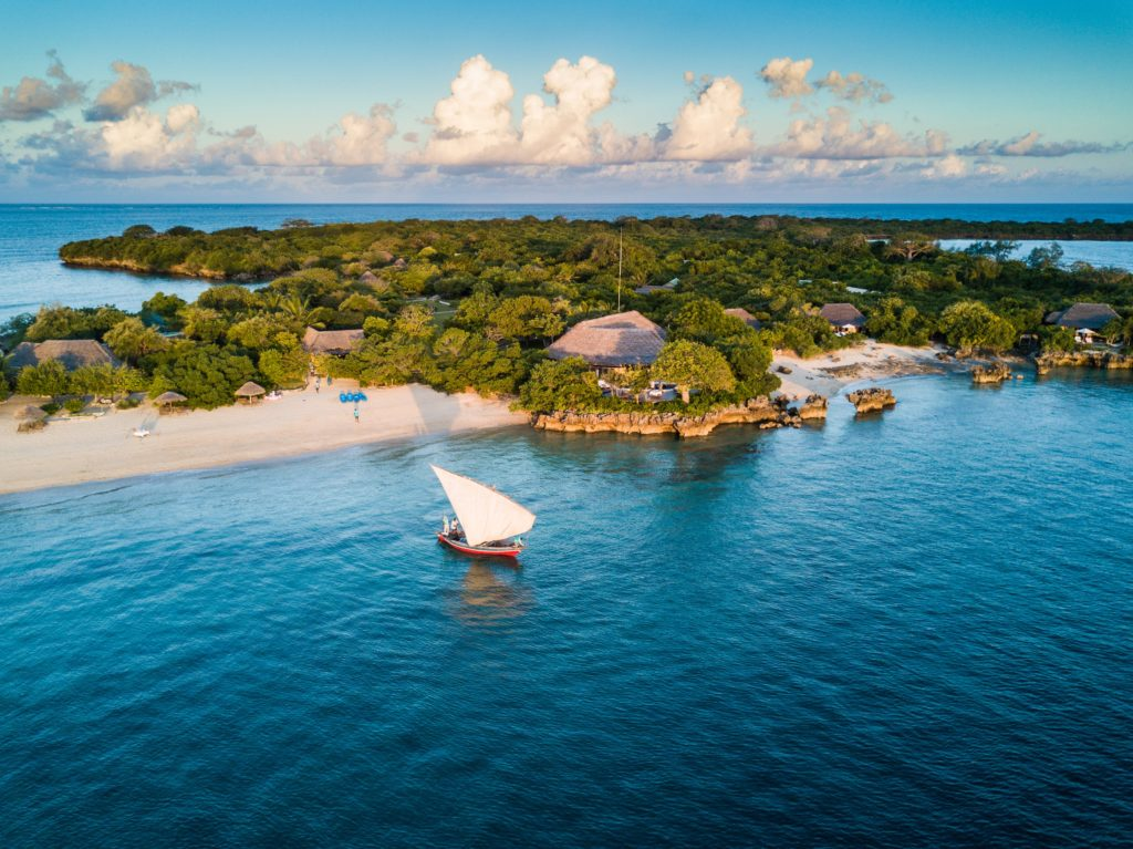 Mozambique - Quilalea Island - 11895 - Beach and Boat