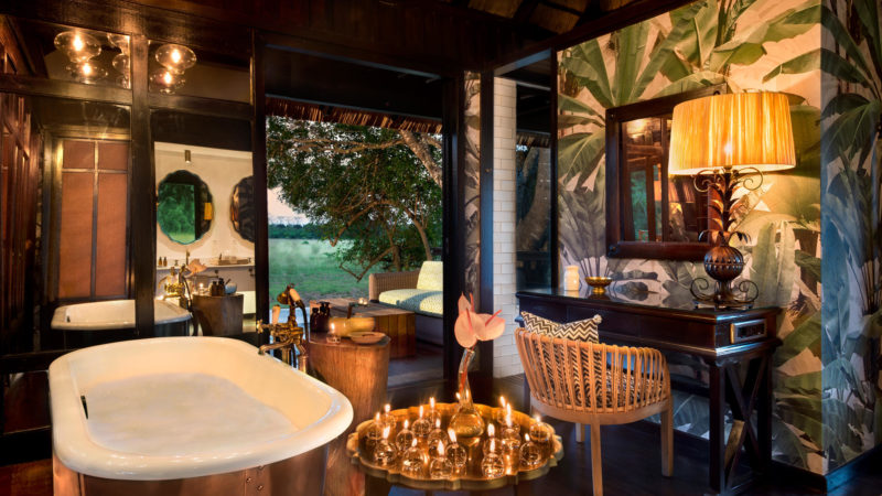South Africa - andBeyond Phinda Private Game Reserve - Vlei Lodge - Suite bathroom