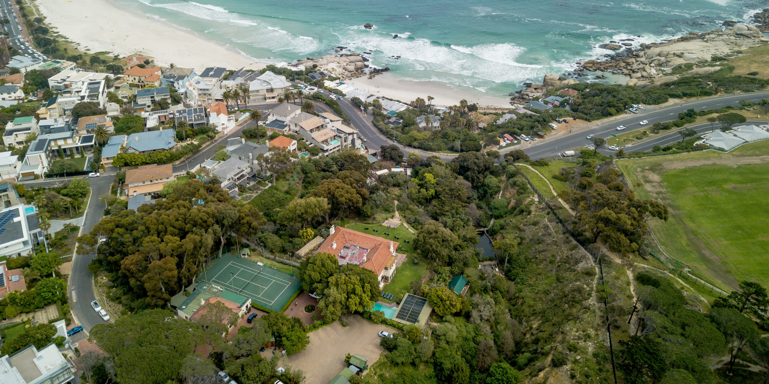 Camps Bay Retreat Aerial View