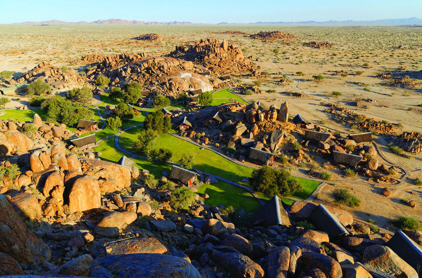Namibia - 1552 - Canyon Lodge - Aerial